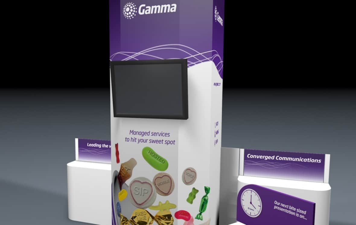 Exhibition Stand Design Hampshire : Exhibition design hampshire gamma stand