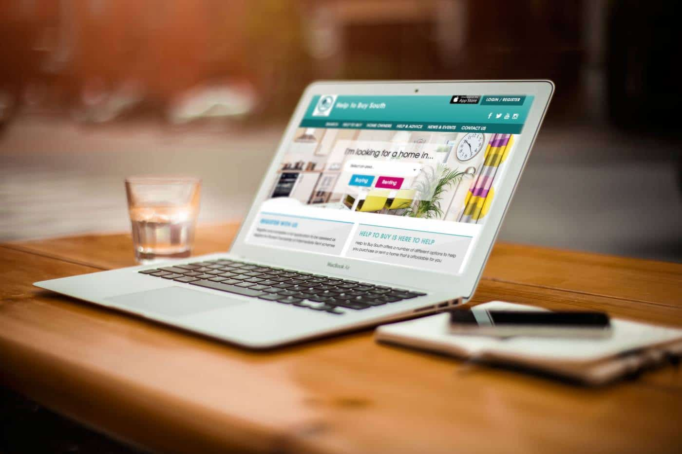 Website design southampton help to buy south radian homes for Websites for buying homes