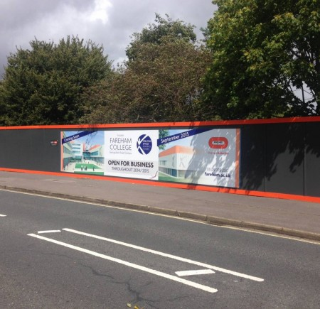 Hoarding Board Design Hampshire