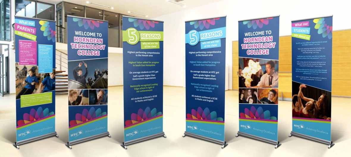Pull up Banners Waterlooville Horndean Technology College