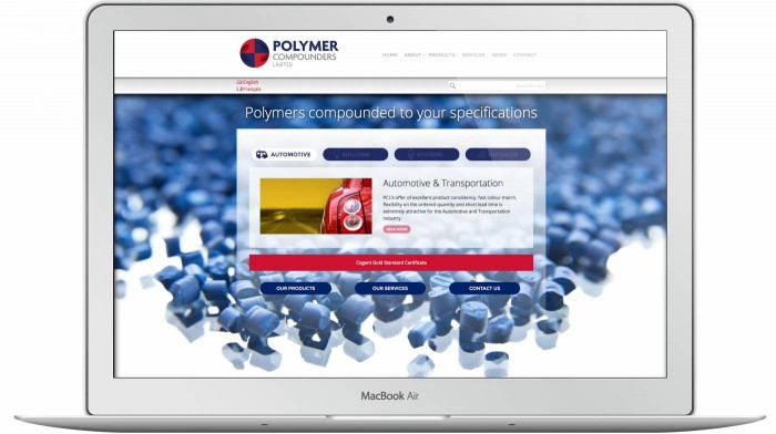 Polymer Compounders Website