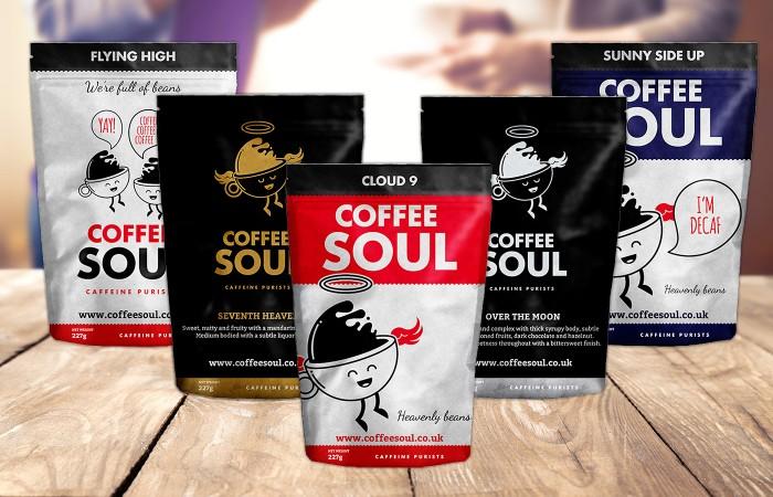 Coffee Soul Packaging