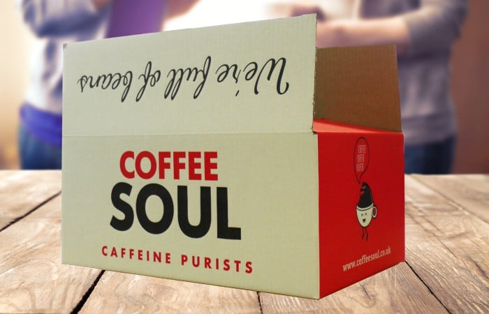 Coffee Soul Packaging Box