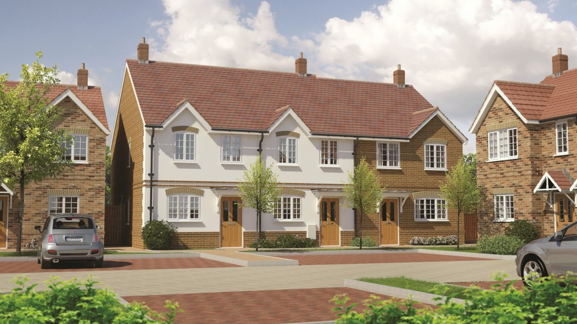 3D cgi Fippenny Grove development