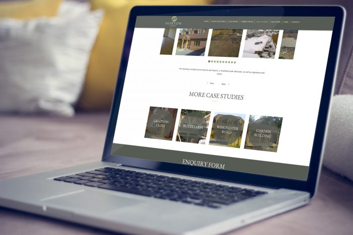 Horton Barns Website