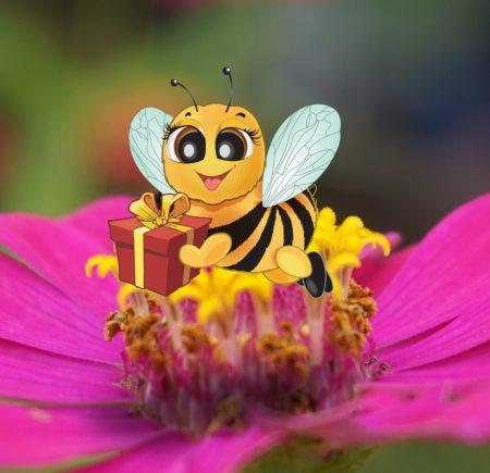 Bee's Gift Store Logo