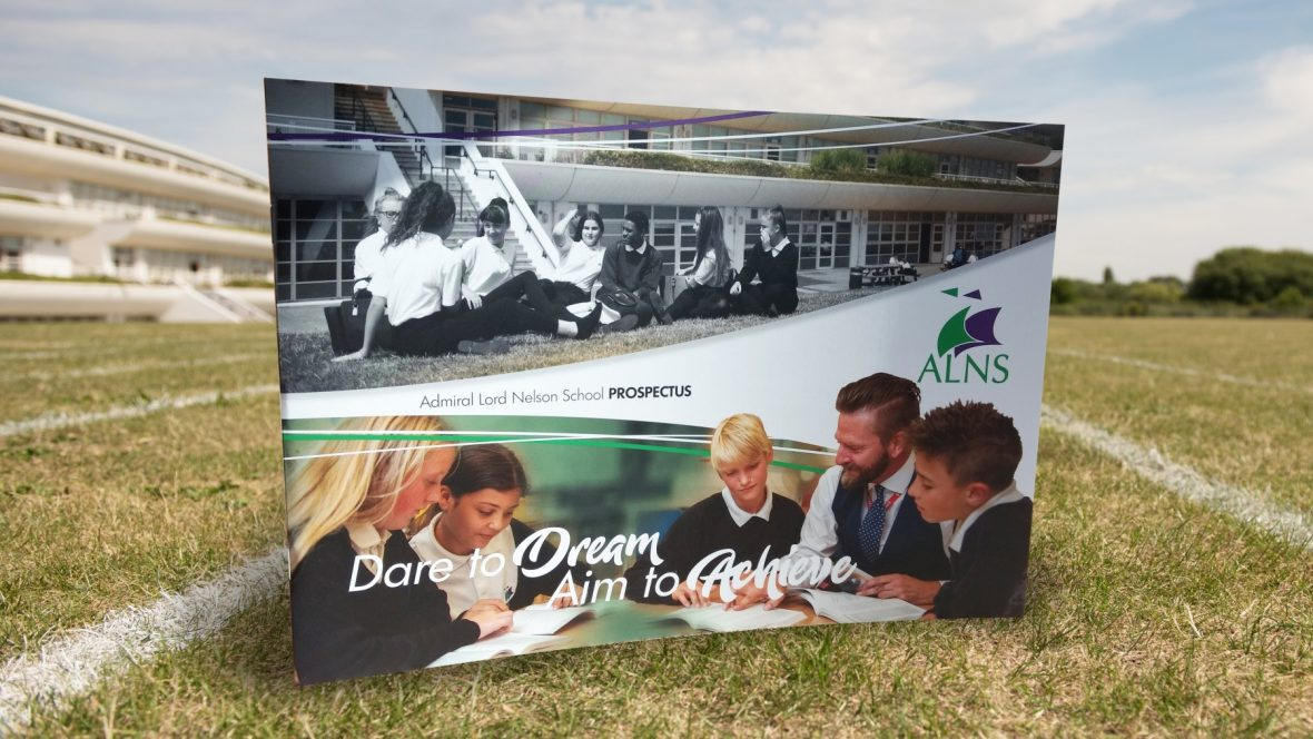 School Prospectus Design Portsmouth