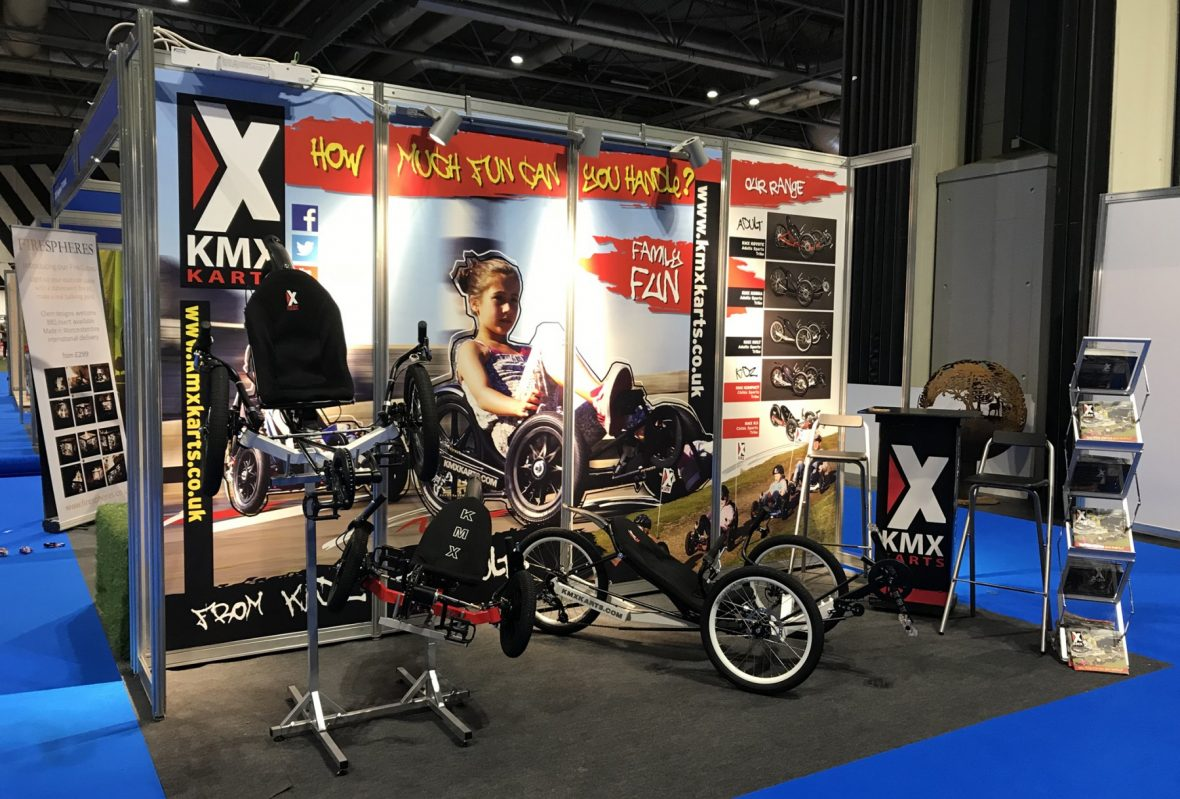 Exhibition Stand Design Hampshire : Exhibition designers fareham kmx karts stand