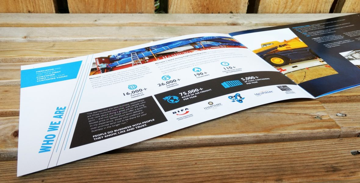 Sales Brochure Design Portsmouth