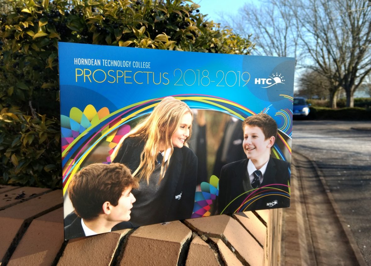 Prospectus Design Hampshire