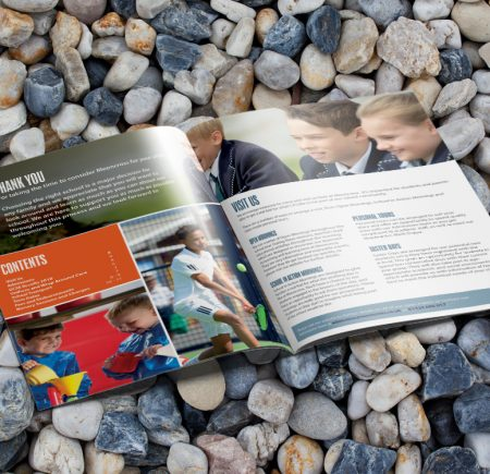 School Brochure Design Fareham