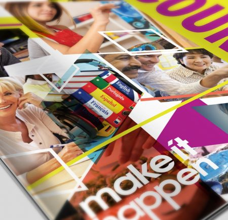 College Brochure Design Portsmouth