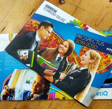 School Prospectus Design Hampshire